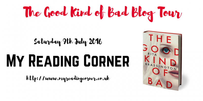 The Good Kind of Bad Blog Tour banner