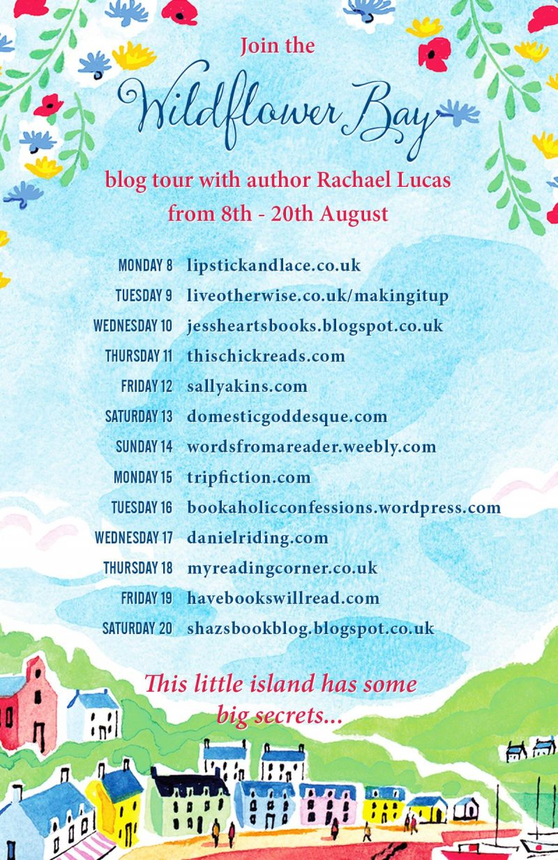 WILDFLOWER BAY BLOG TOUR