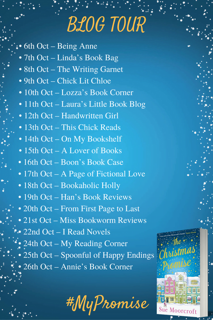 THE CHRISTMAS PROMISE BLOG TOUR