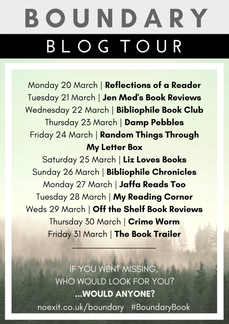 BOUNDARYblog tour