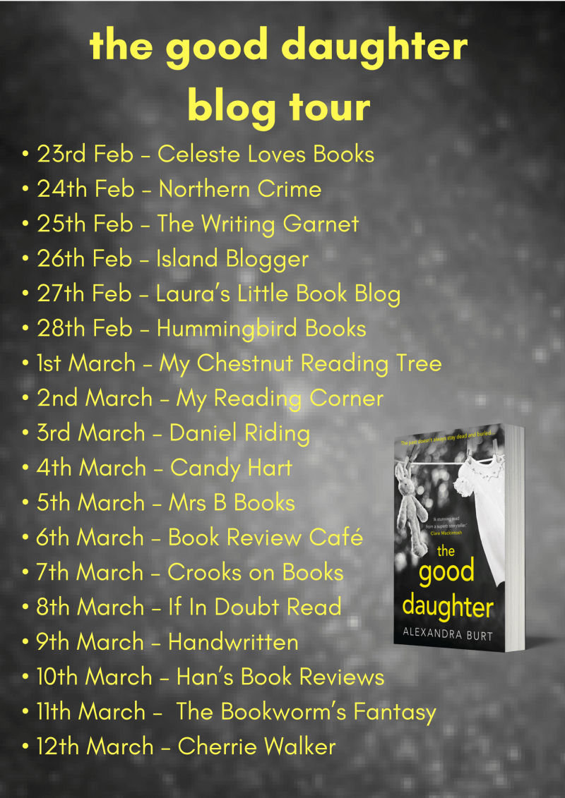 THE GOOD DAUGHTER BLOG TOUR