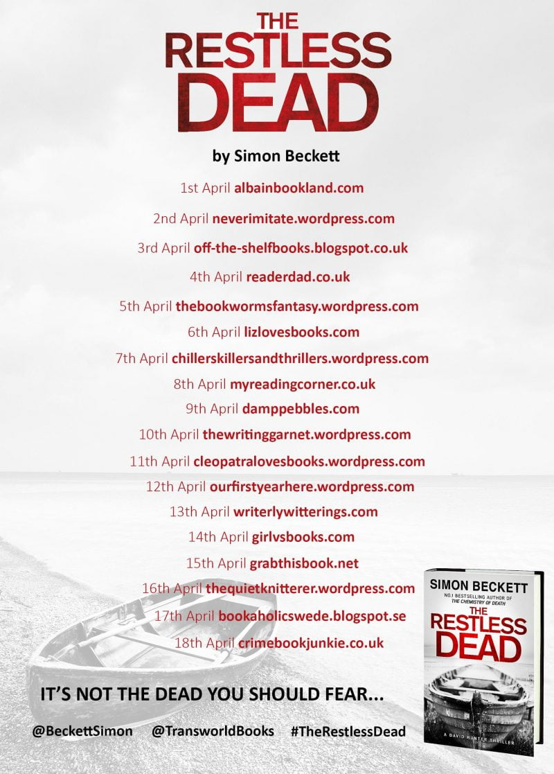 THE RESTLESS DEAD BLOG TOUR