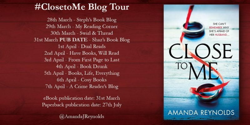 CLOSE TO ME BLOG TOUR
