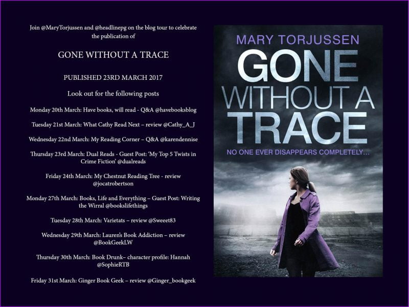 GONE WITHOUT A TRACE BLOG TOUR