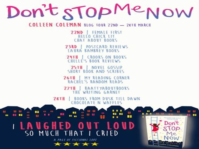 DON'T STOP ME NOW BLOG TOUR