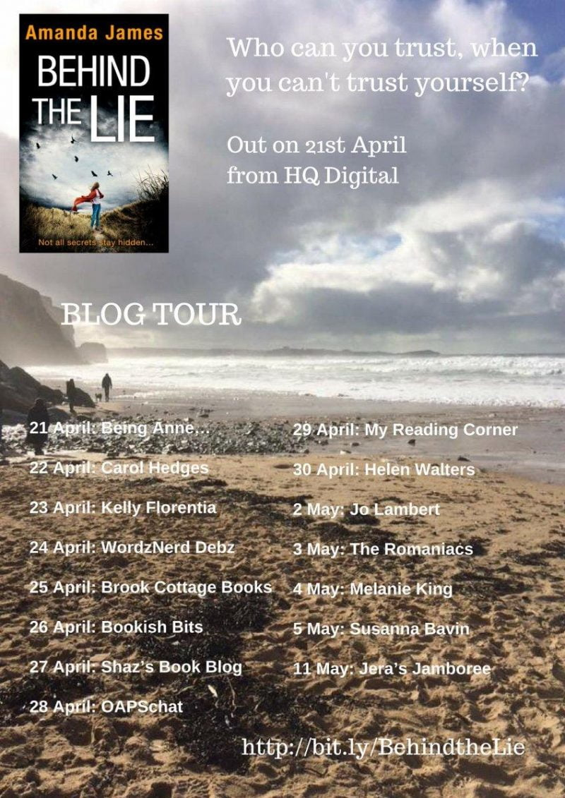 BEHIND THE LIE BLOG TOUR