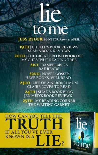 LIE TO ME BLOG TOUR