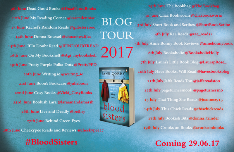 BLOOD SISTERS – JANE CORRY (BLOG TOUR)