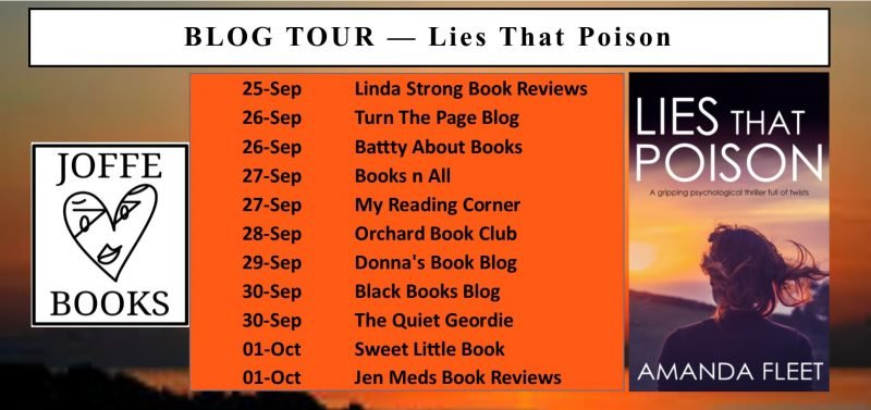 LIES THAT POISON – AMANDA FLEET
