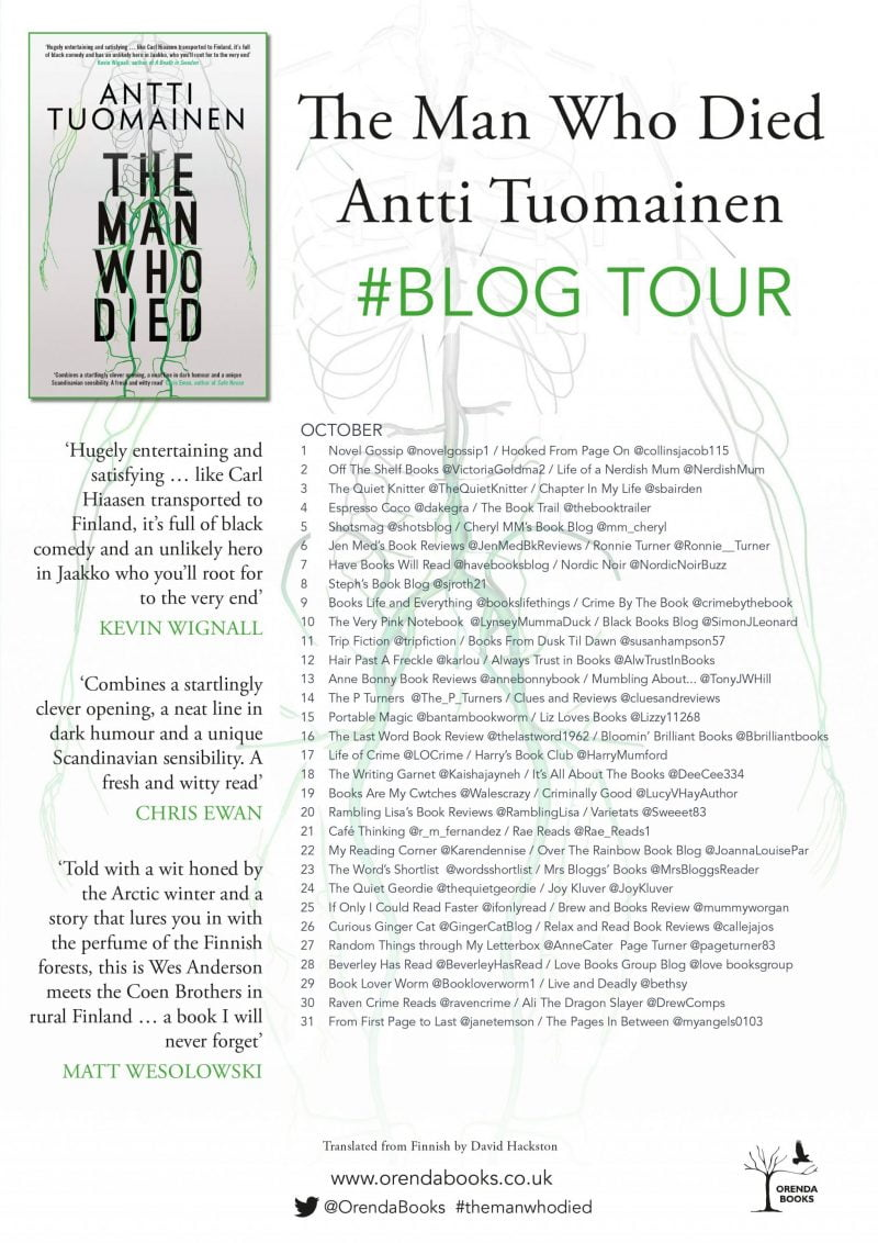 THE MAN WHO DIED – ANTTI TUOMAINEN