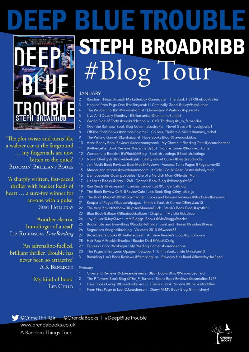 DEEP BLUE TROUBLE – STEPH BROADRIBB
