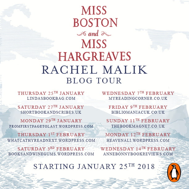 MISS BOSTON AND MISS HARGREAVES – RACHEL MALIK