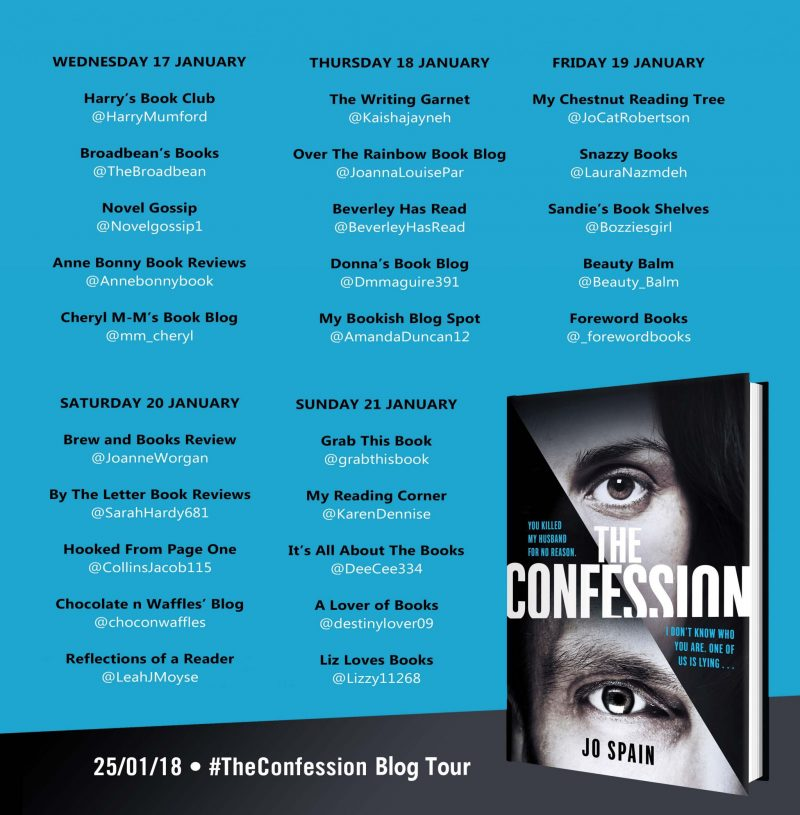 THE CONFESSION – JO SPAIN