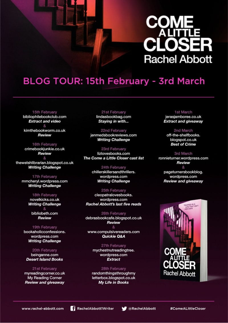 COME A LITTLE CLOSER – RACHEL ABBOTT