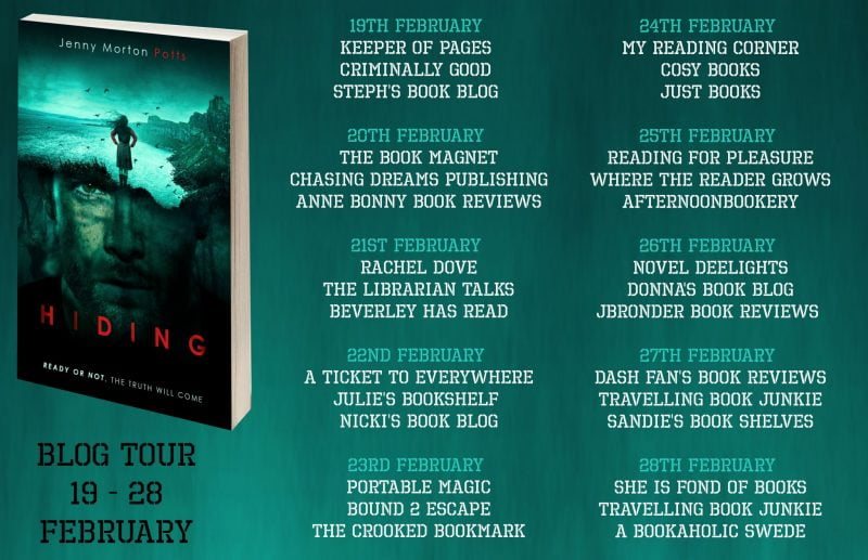 HIDING – JENNY MORTON POTTS