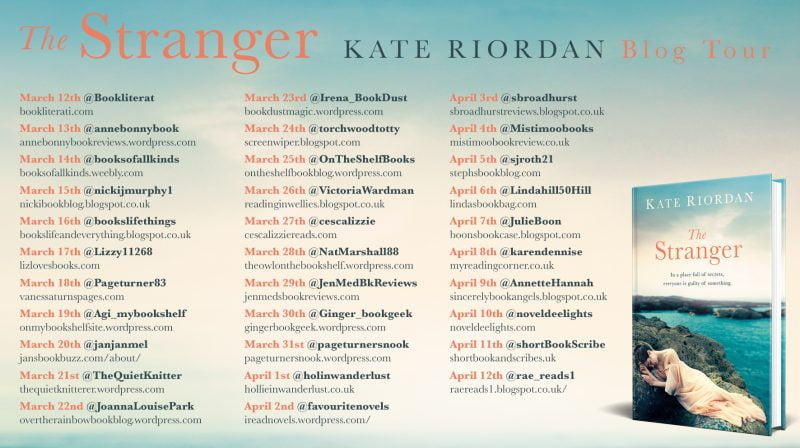 THE STRANGER – KATE RIORDAN