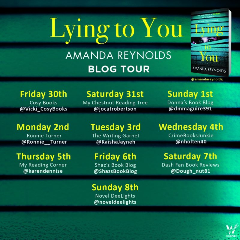 LYING TO YOU – AMANDA REYNOLDS