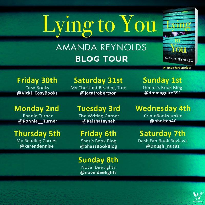 LYING TO YOU – AMANDA REYNOLDS