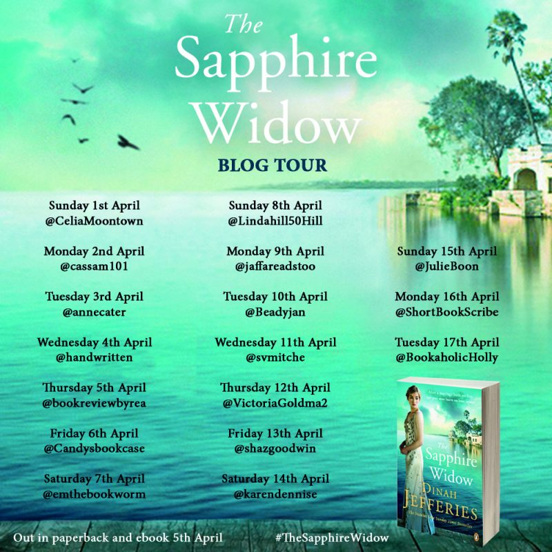 THE SAPPHIRE WIDOW – DINAH JEFFERIES