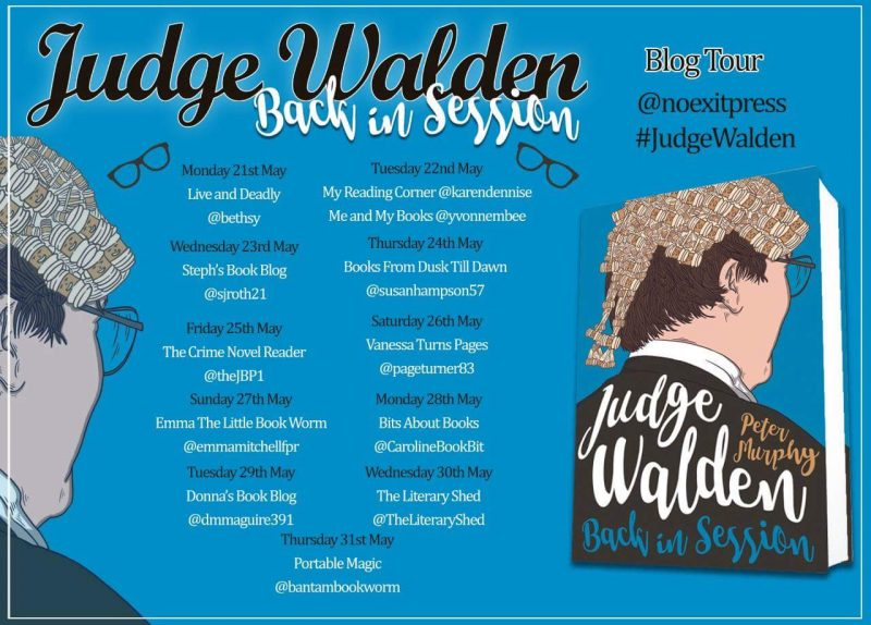JUDGE WALDEN BACK IN SESSION – PETER MURPHY