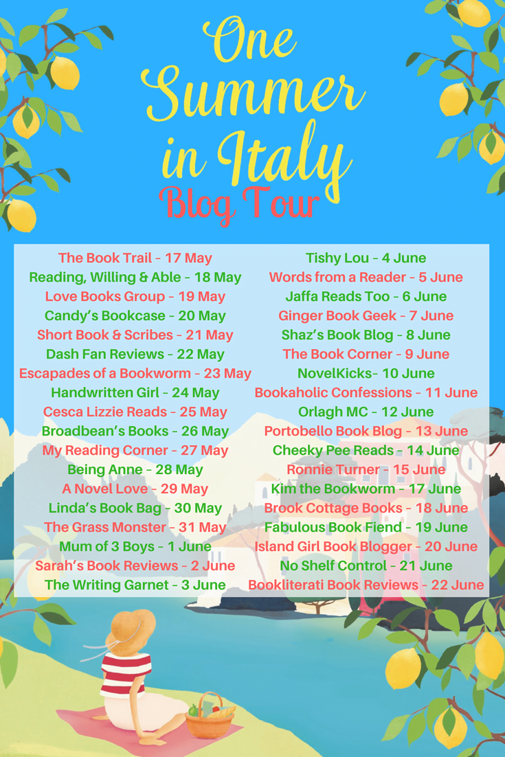 ONE SUMMER IN ITALY – SUE MOORCROFT