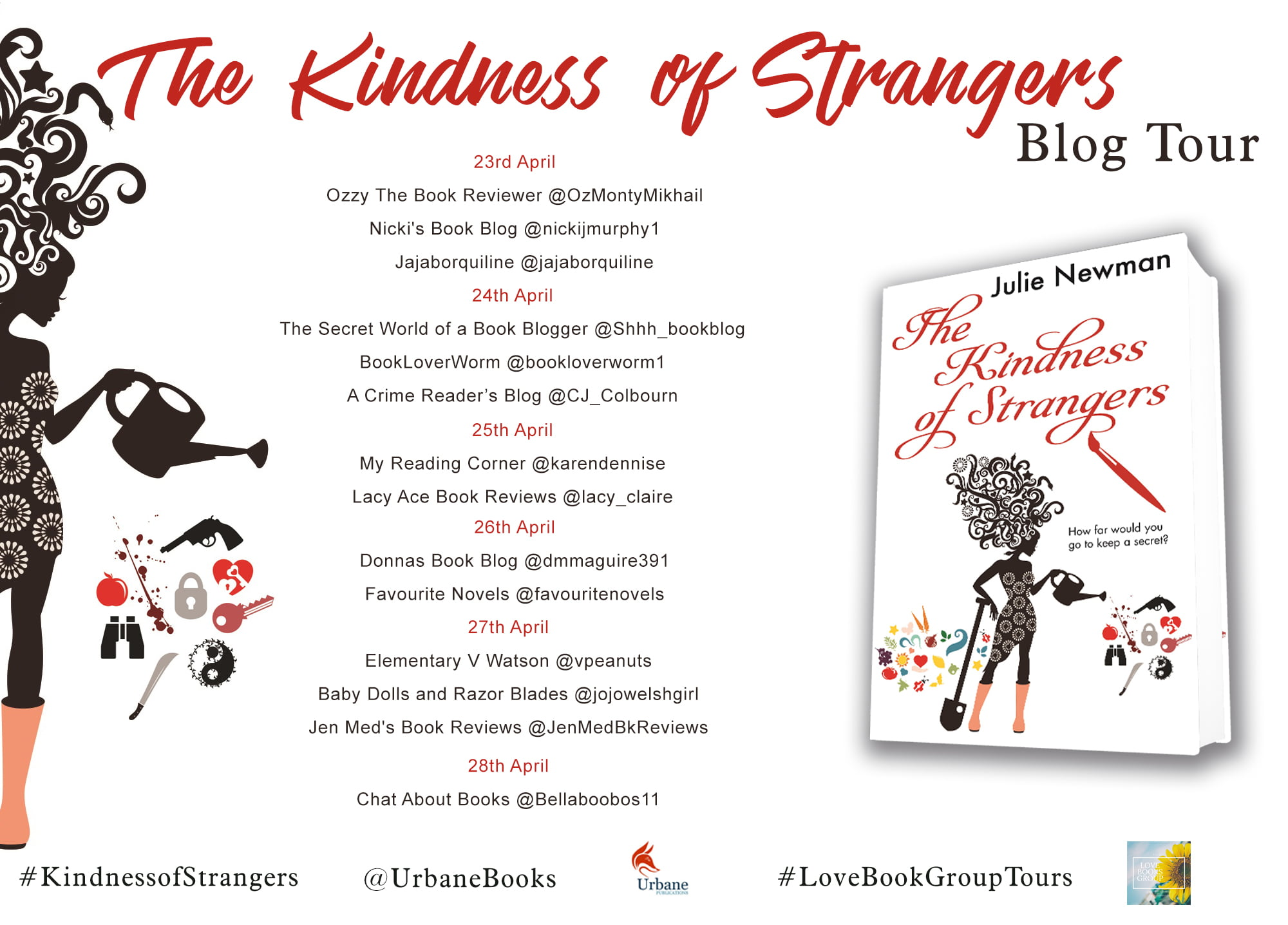 THE KINDNESS OF STRANGERS – JULIE NEWMAN