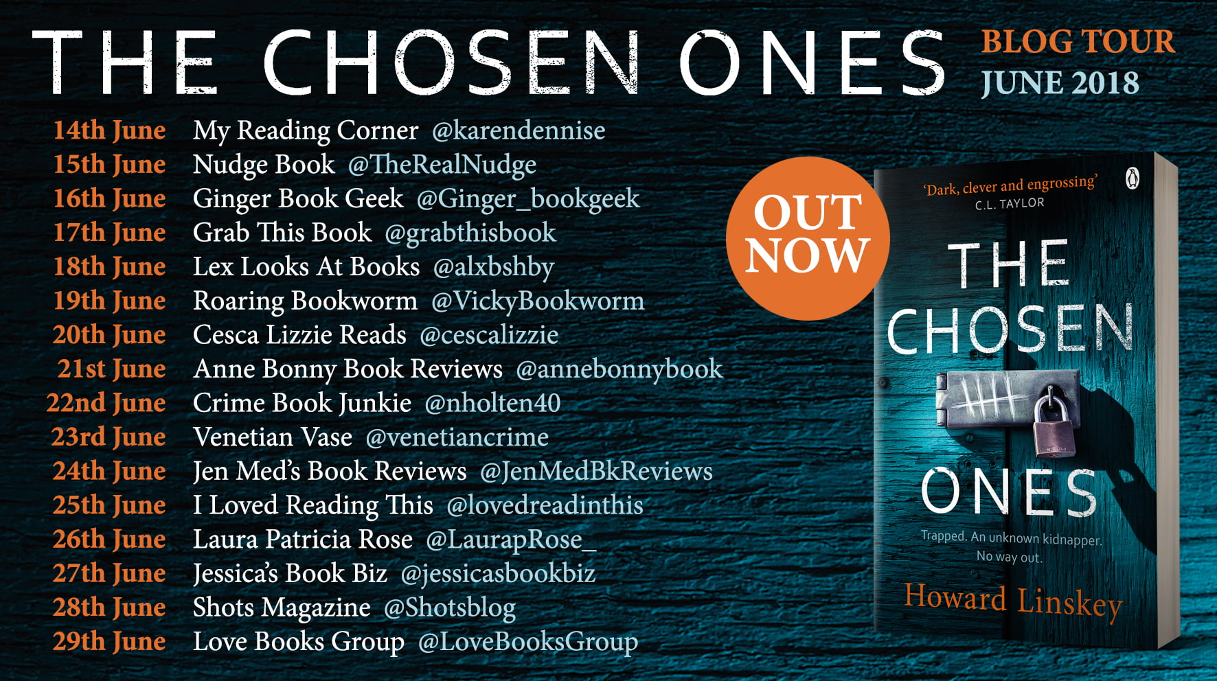 THE CHOSEN ONES – HOWARD LINSKEY