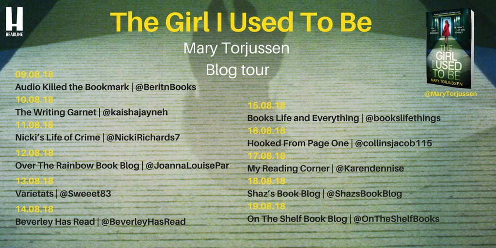 The Girl I Used To Be – Mary Torjussen