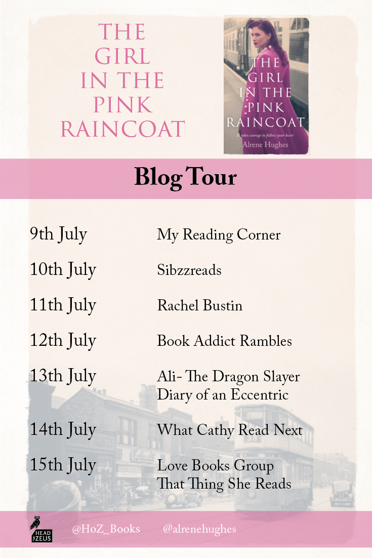THE GIRL IN THE PINK RAINCOAT – ALRENE HUGHES