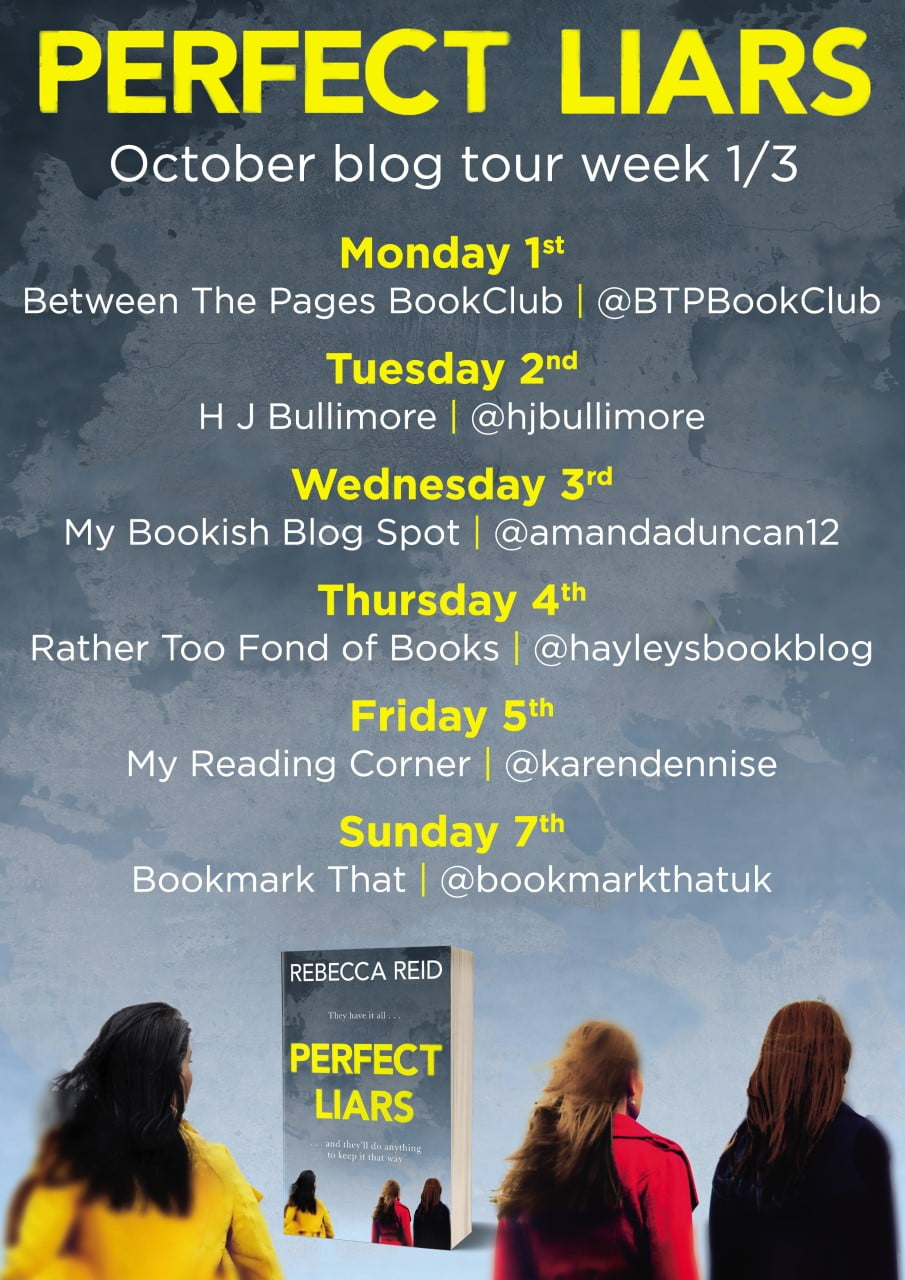 Perfect Liars Blog Tour Week 1