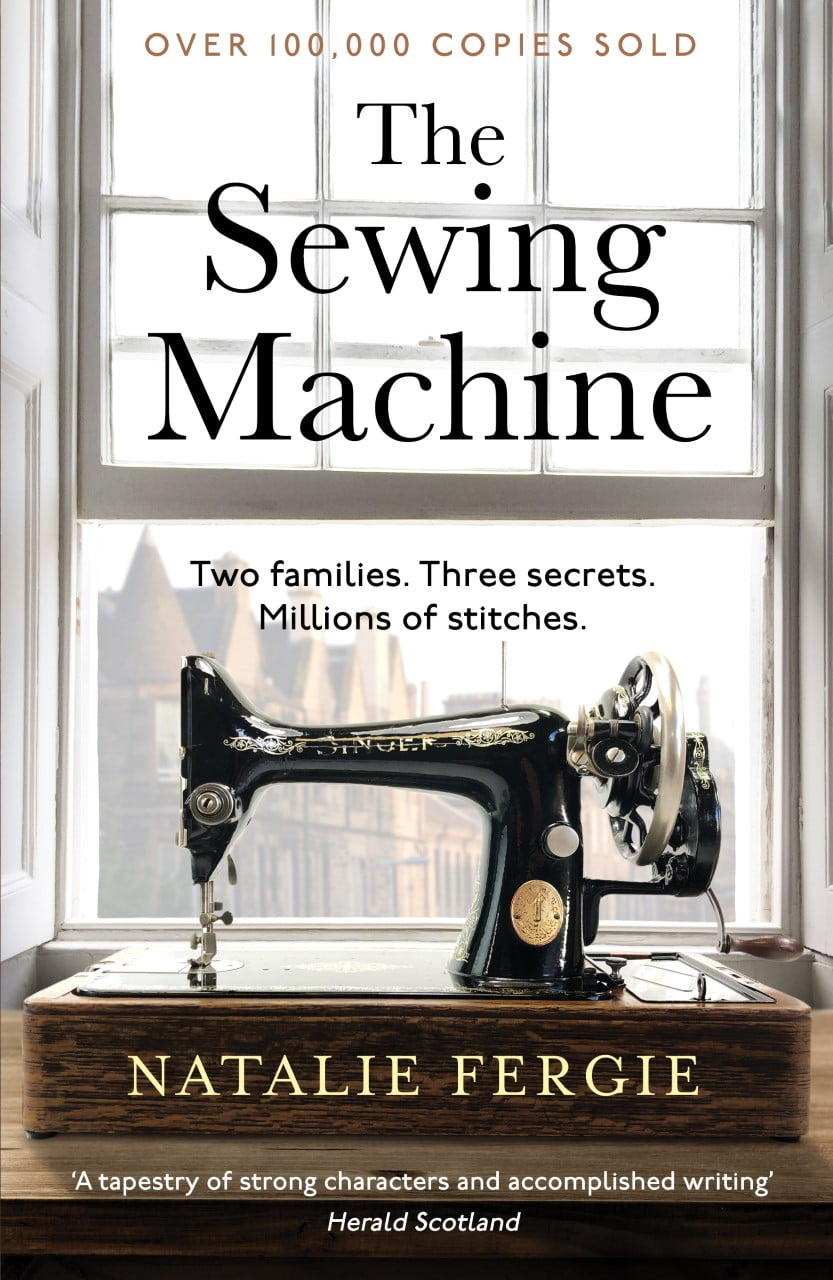 The Sewing Machine by Natalie Fergie |Blog Tour Extract