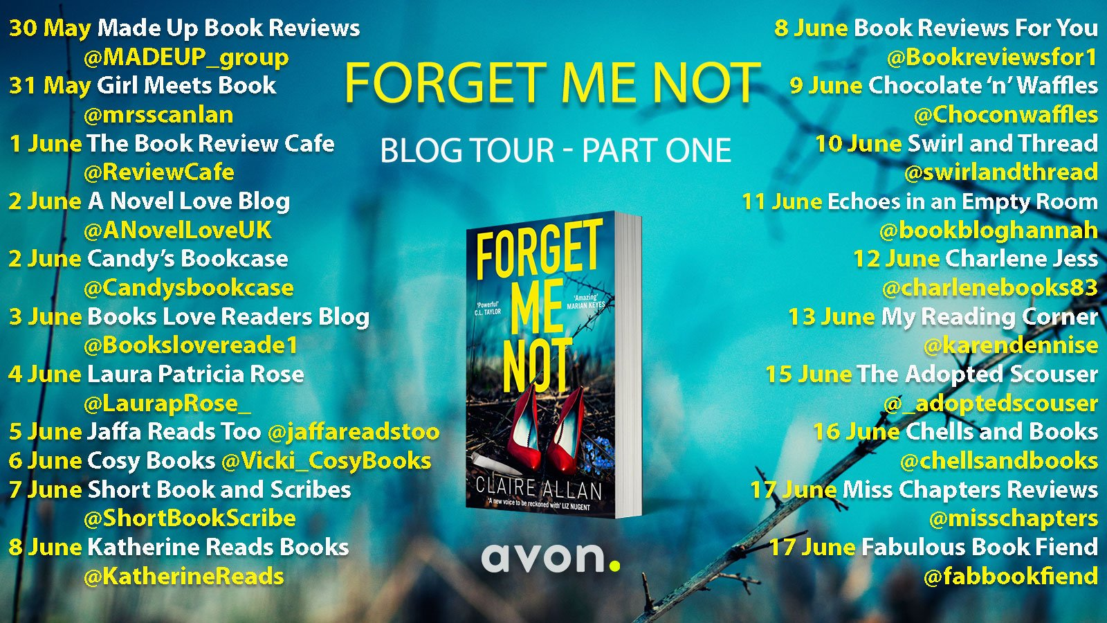 Forget Me Not – Claire Allan