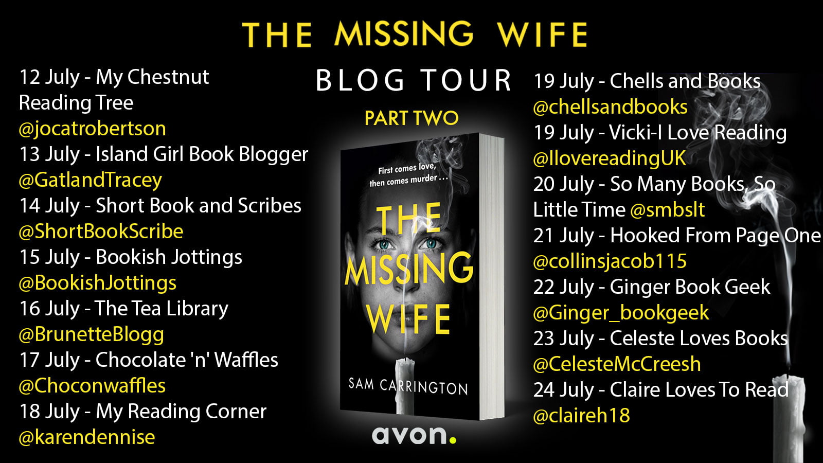 The Missing Wife – Sam Carrington