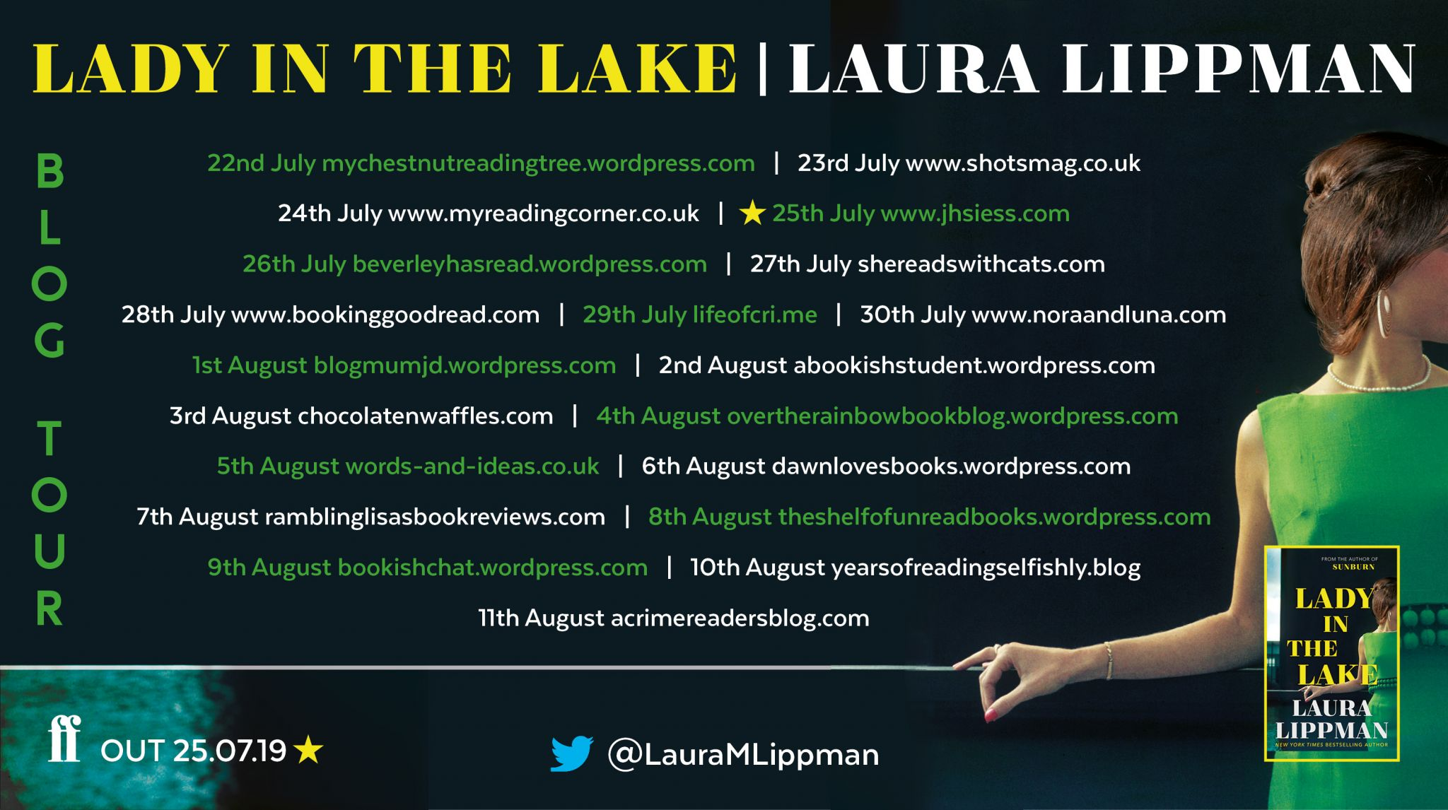Lady in the Lake – Laura Lippman