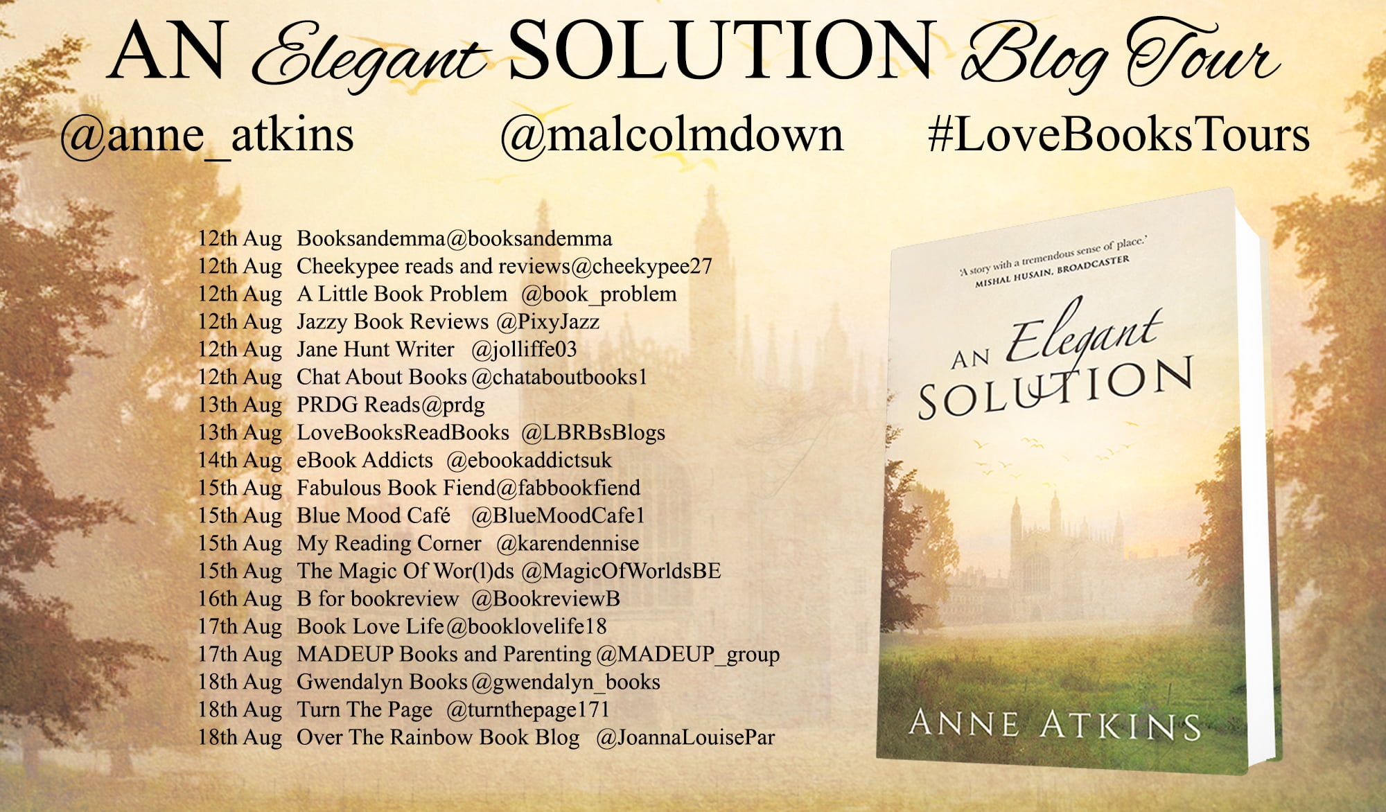 An Elegant Solution – Anne Atkins