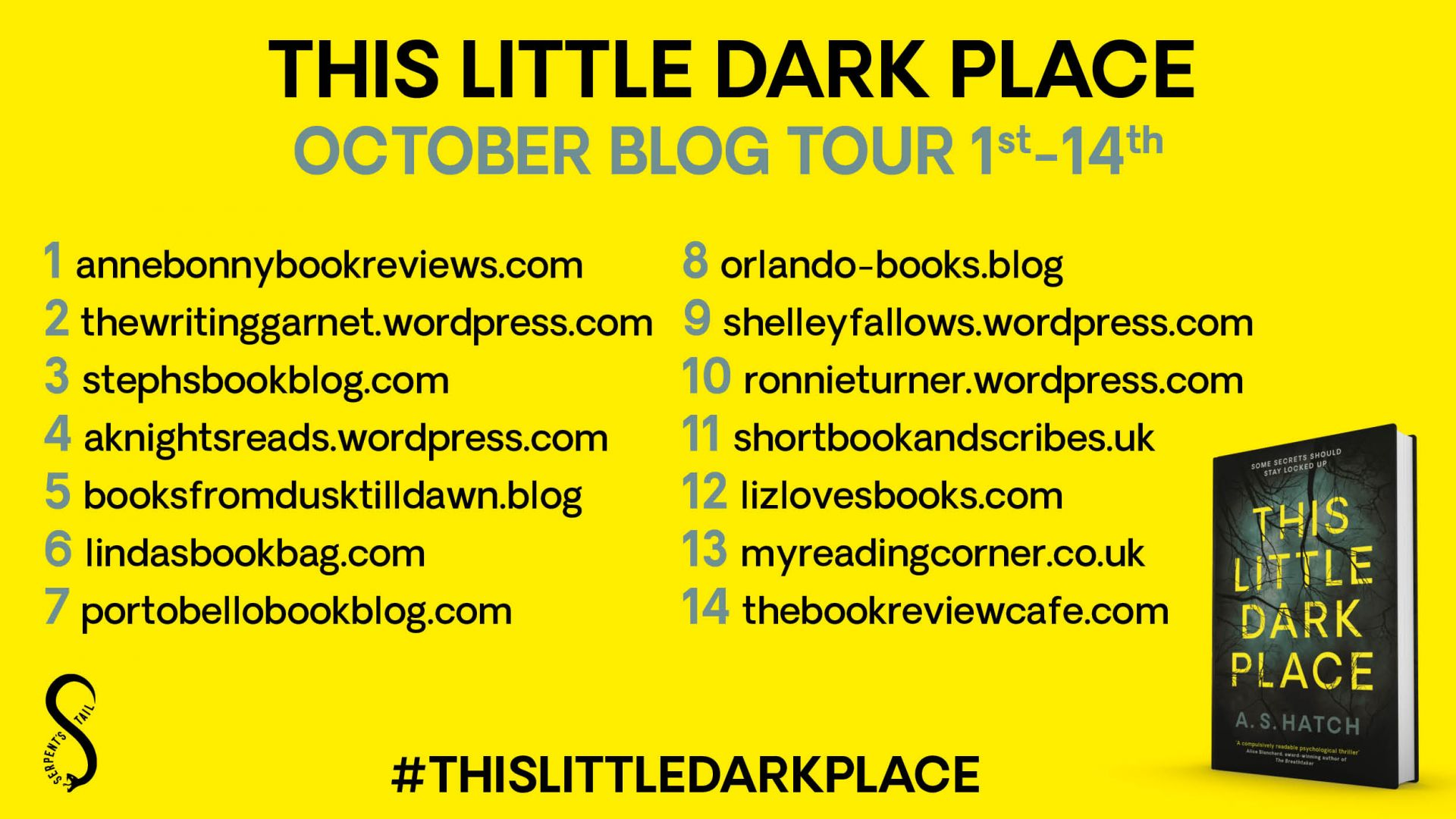 This Little Dark Place – A S Hatch