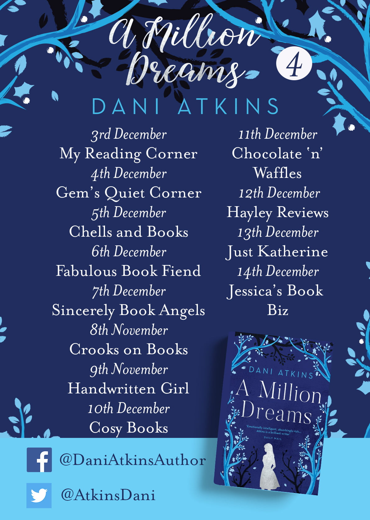 A Million Dreams – Dani Atkins