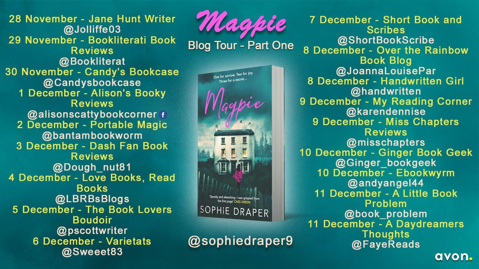 Magpie – Sophie Draper