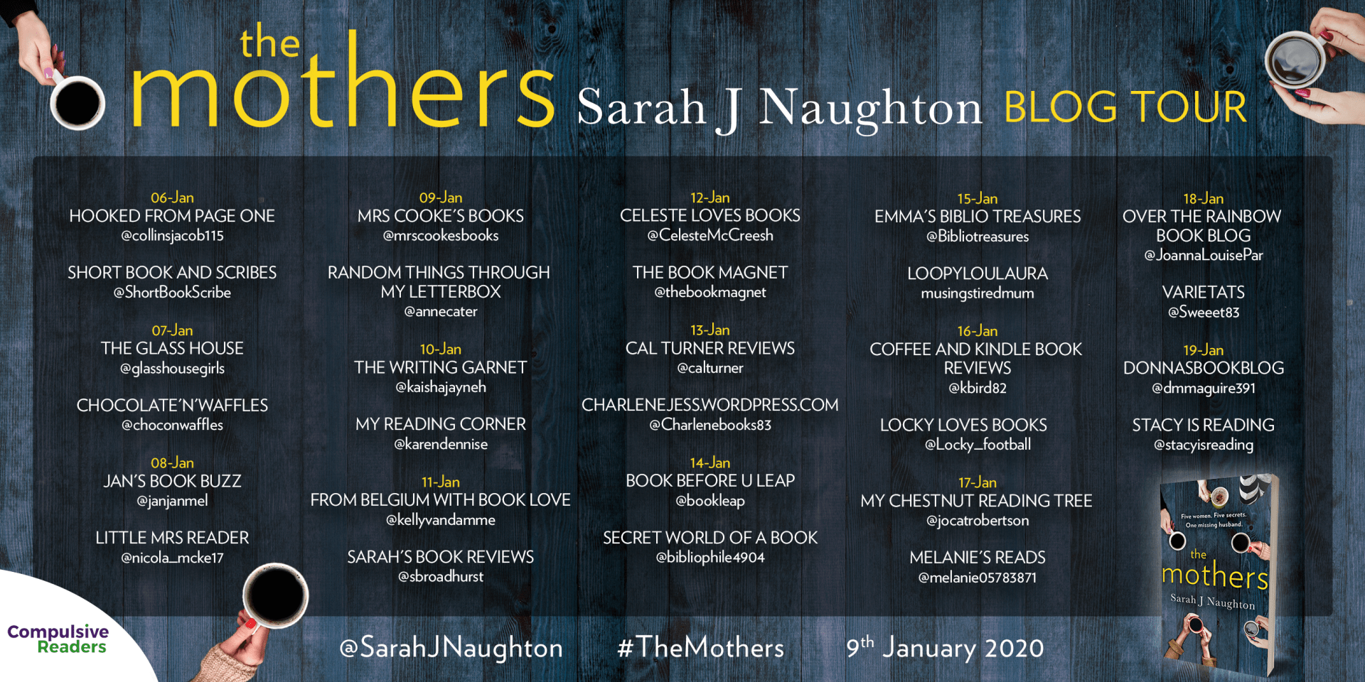 The Mothers – Sarah J Naughton