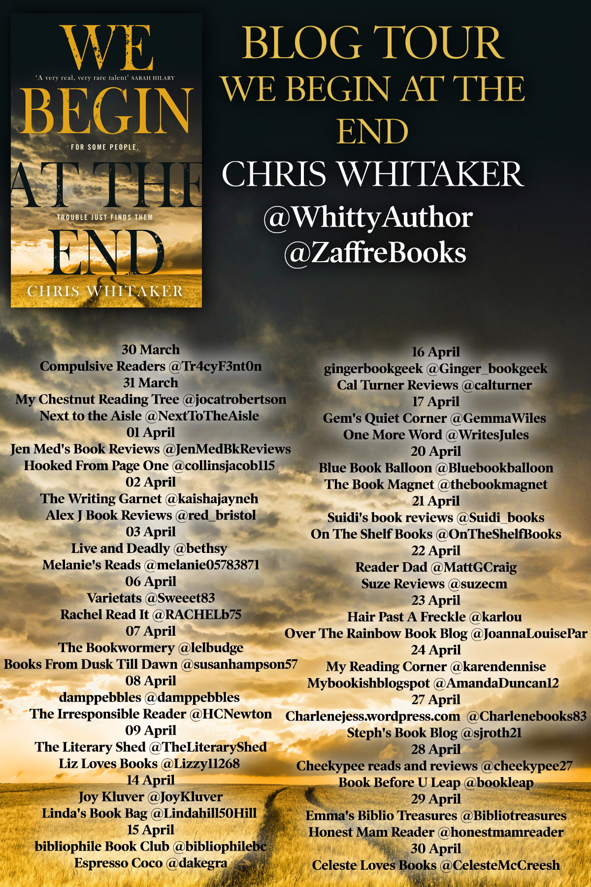 We Begin At the End – Chris Whitaker