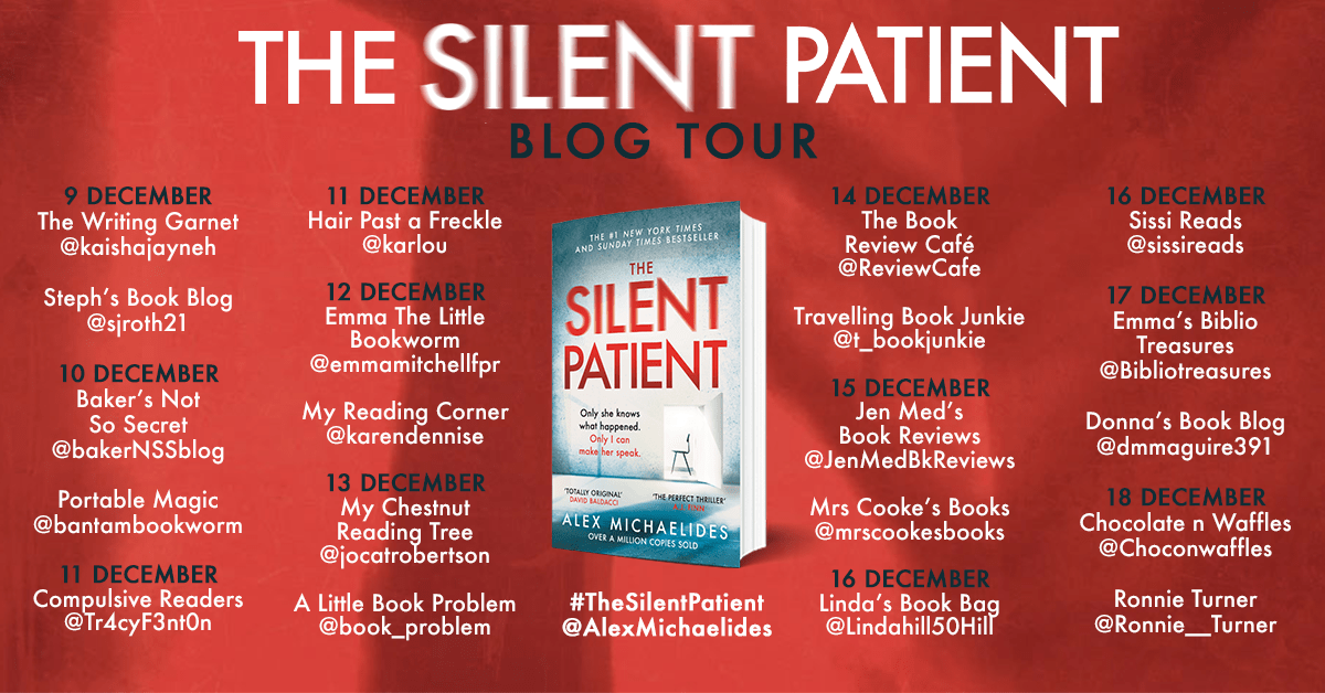 The Silent Patient – Alex Michaelides