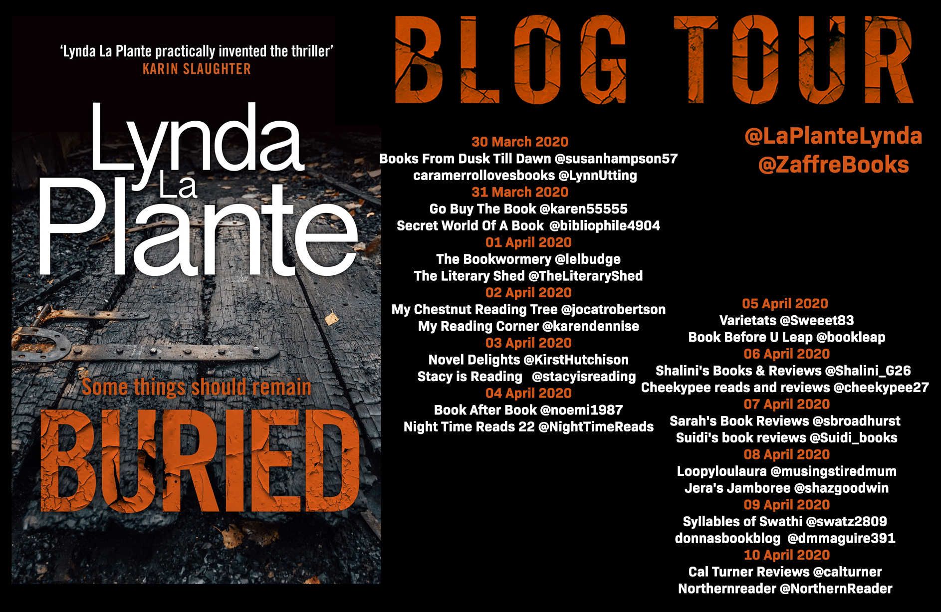 Buried – Lynda La Plante