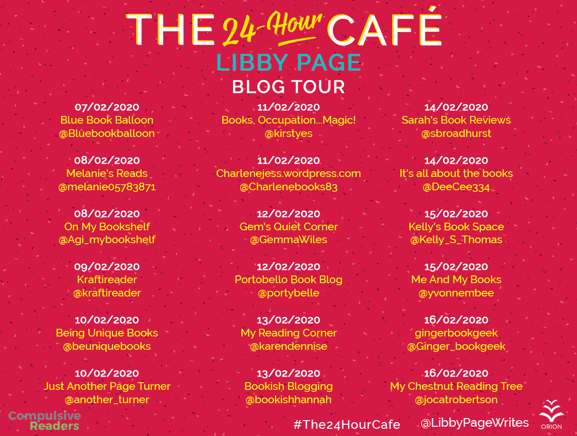 The 24 Hour Cafe – Libby Page