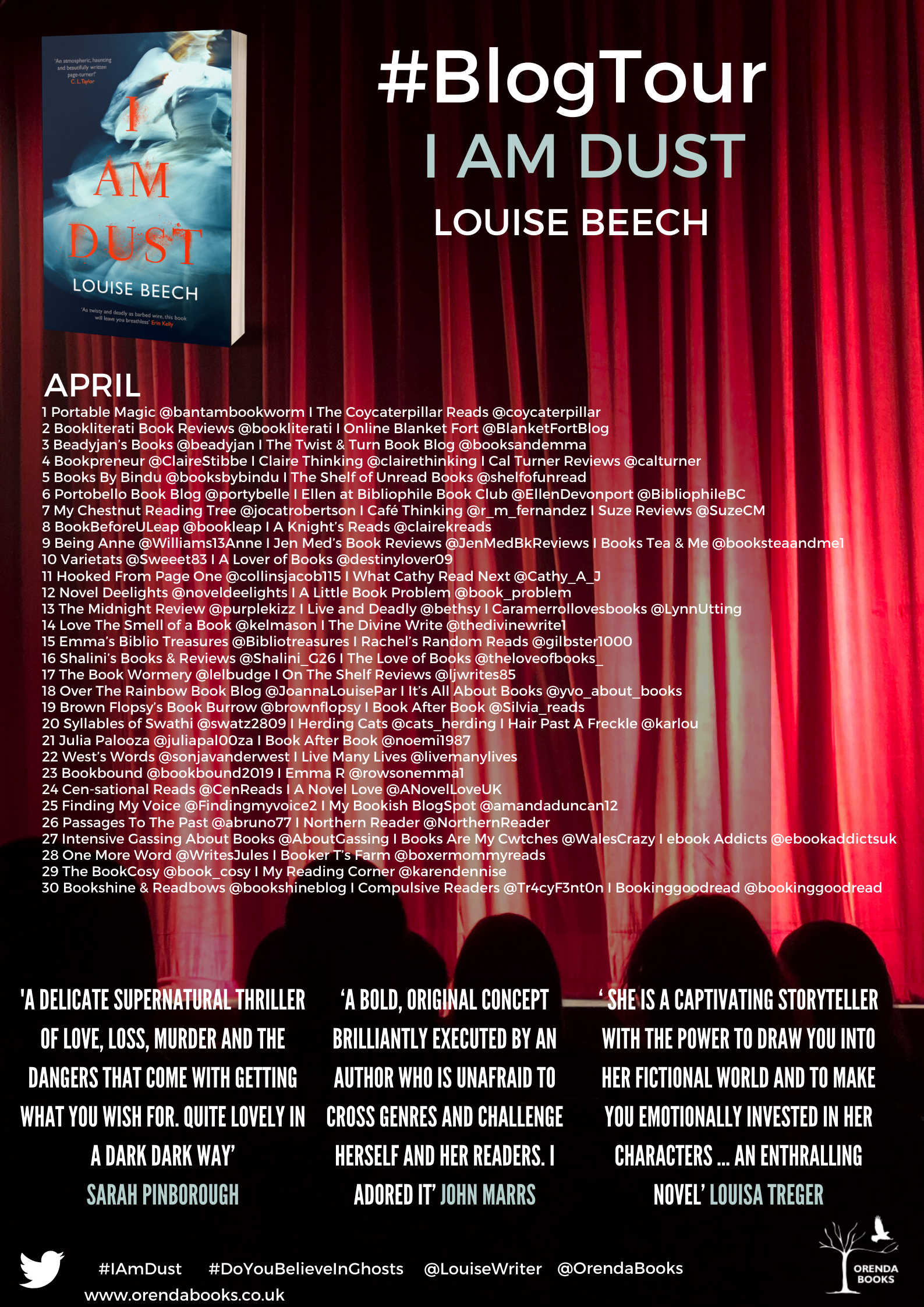 I Am Dust – Louise Beech