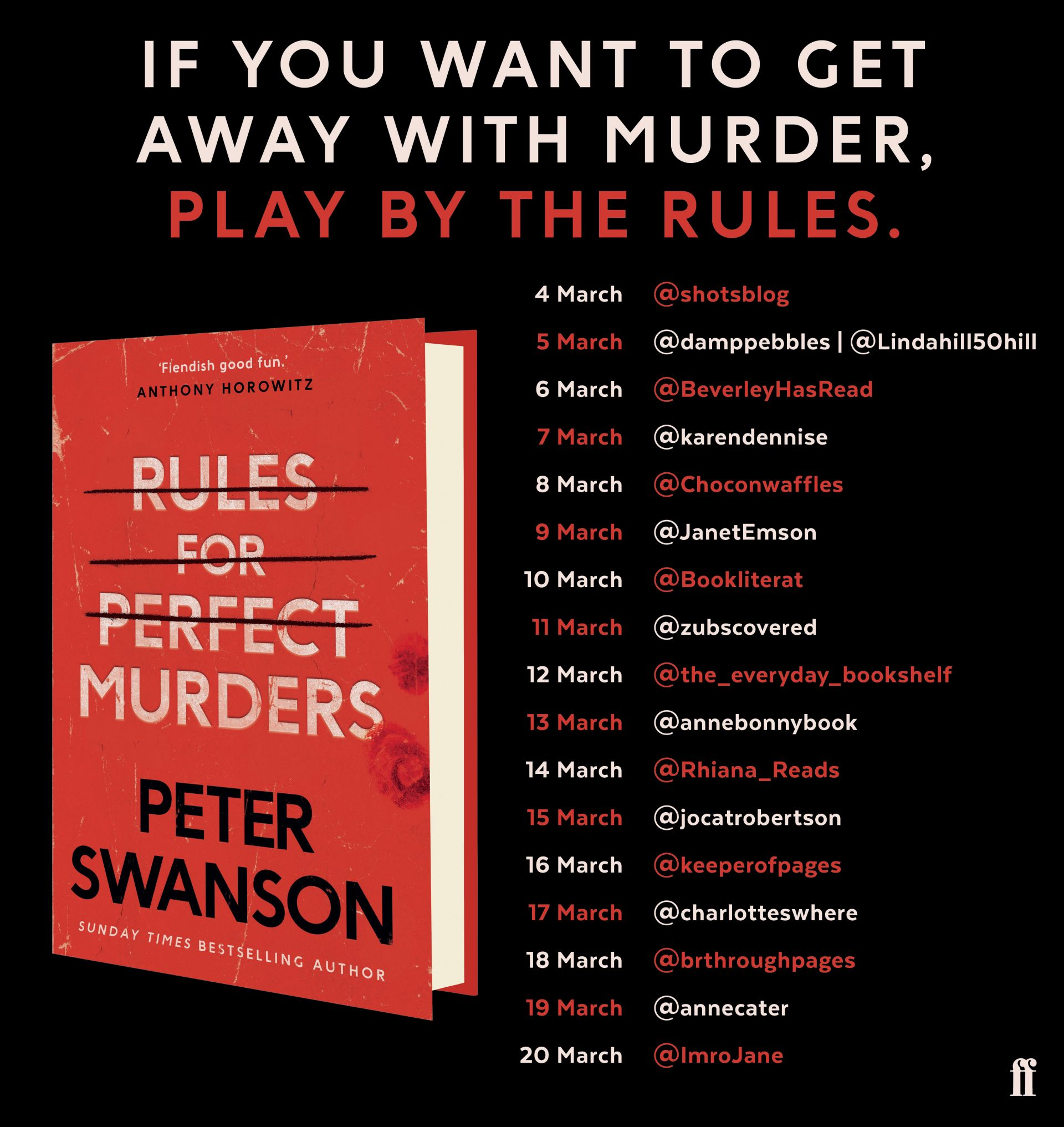 Rules for Perfect Murders – Peter Swanson
