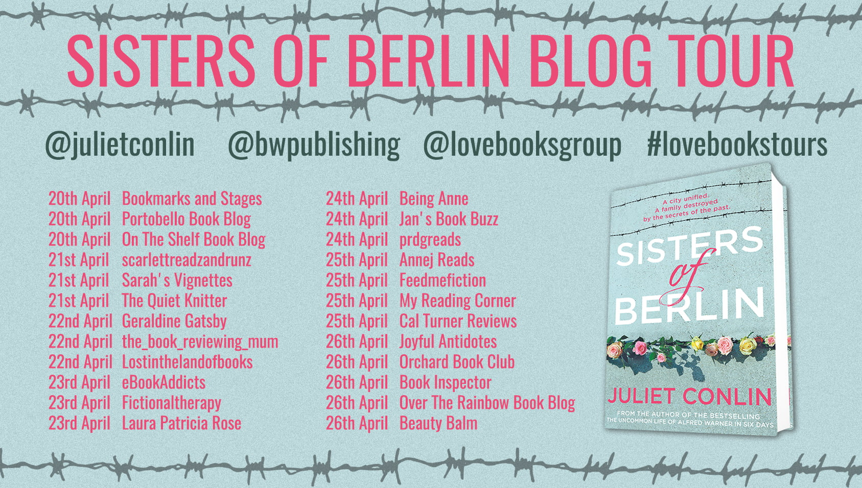 Sisters of Berlin – Juliet Conlin