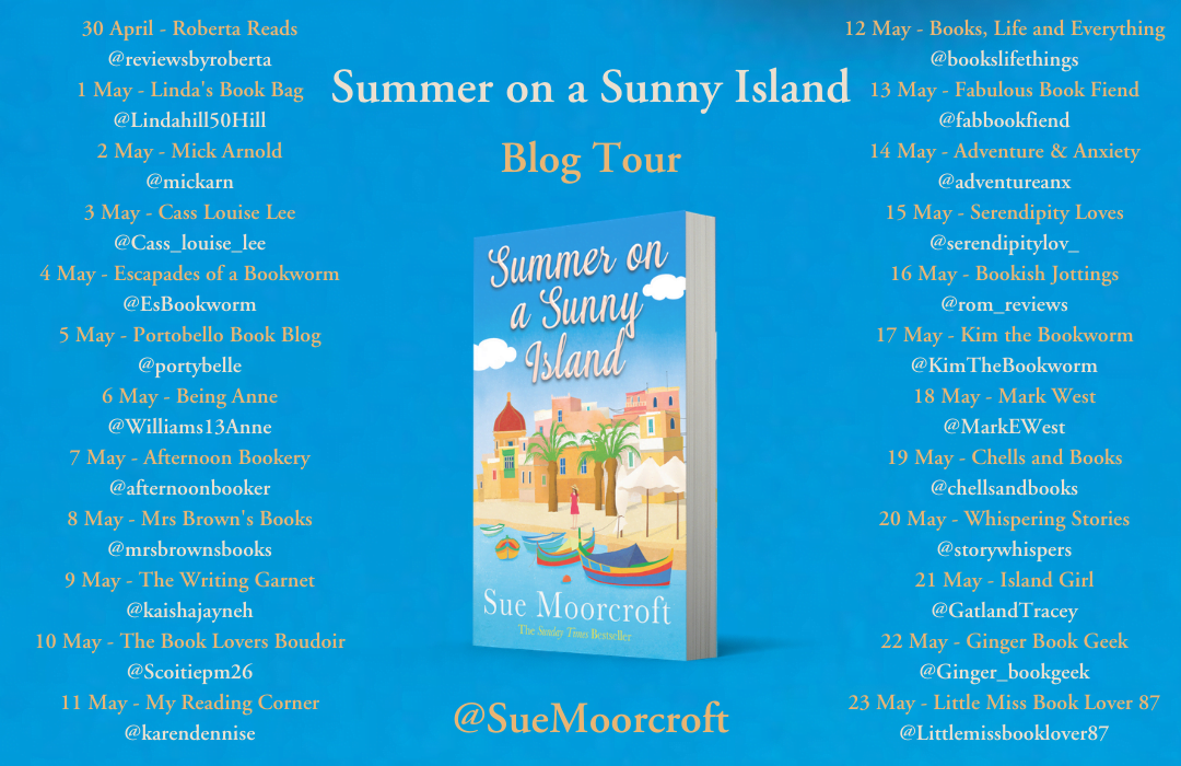 Summer on a Sunny Island – Sue Moorcroft