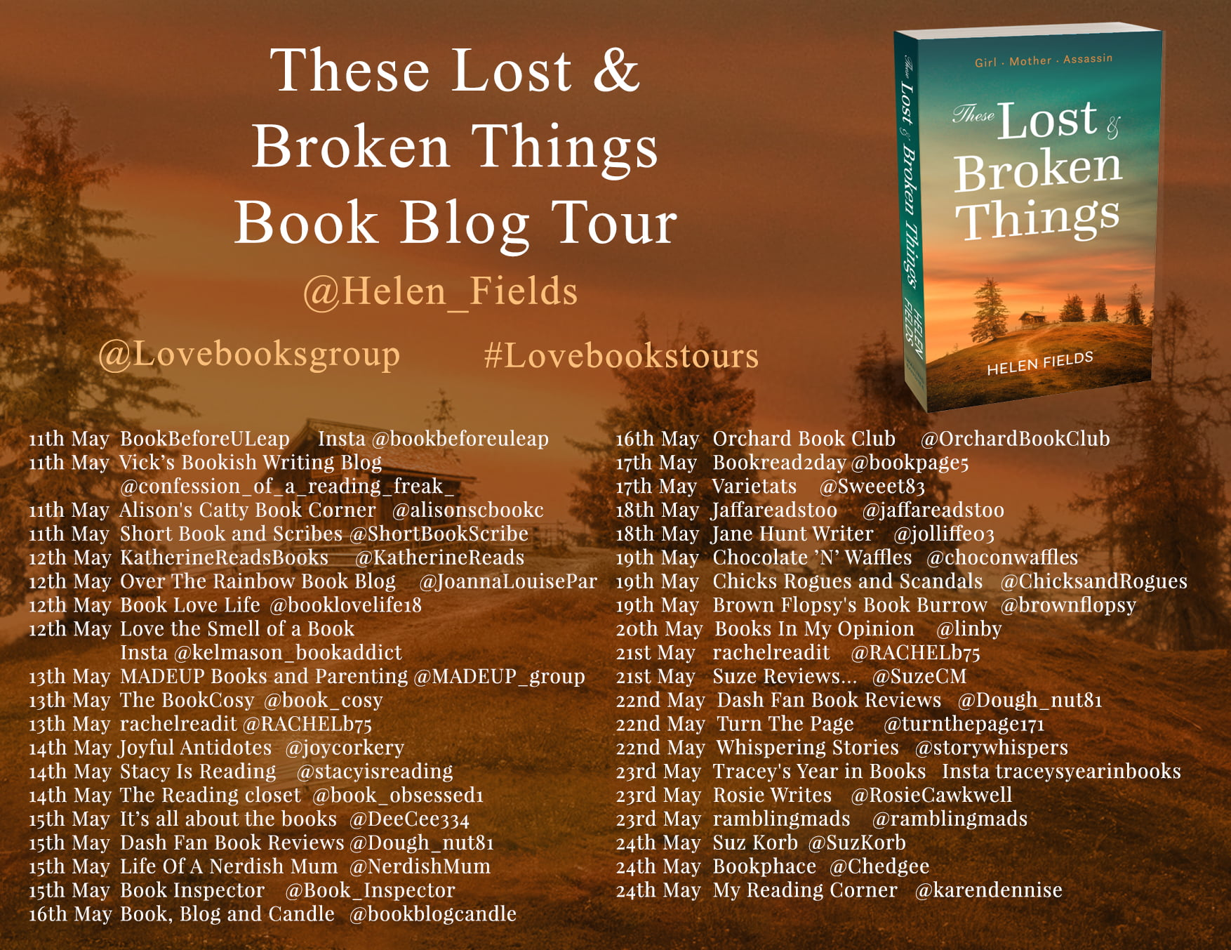These Lost and Broken Things – Helen Fields