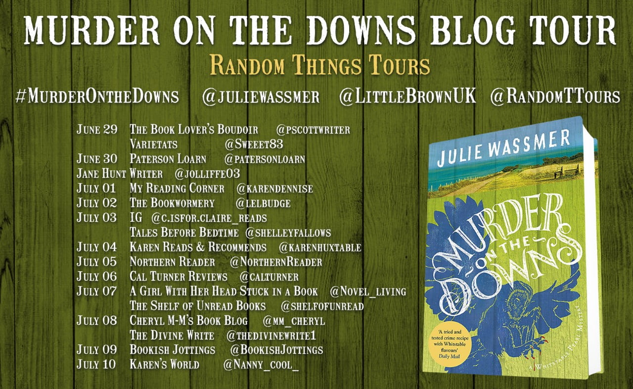 Murder on the Downs Blog Tour Banner