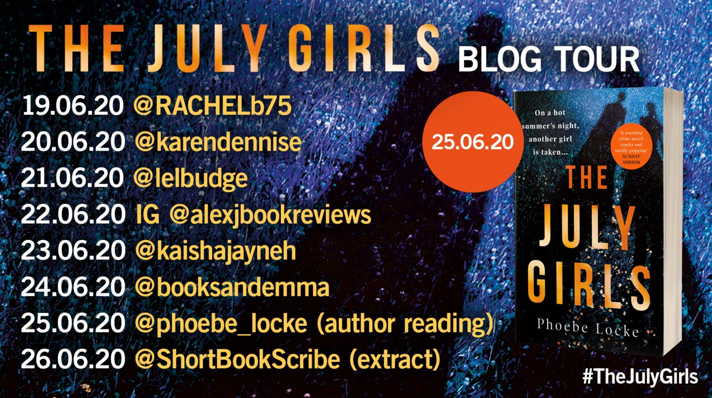 The July Girls tour banner